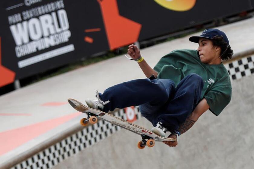 Un puertorriqueño y tres brasileños avanzan a las semis de Mundial Skate Park