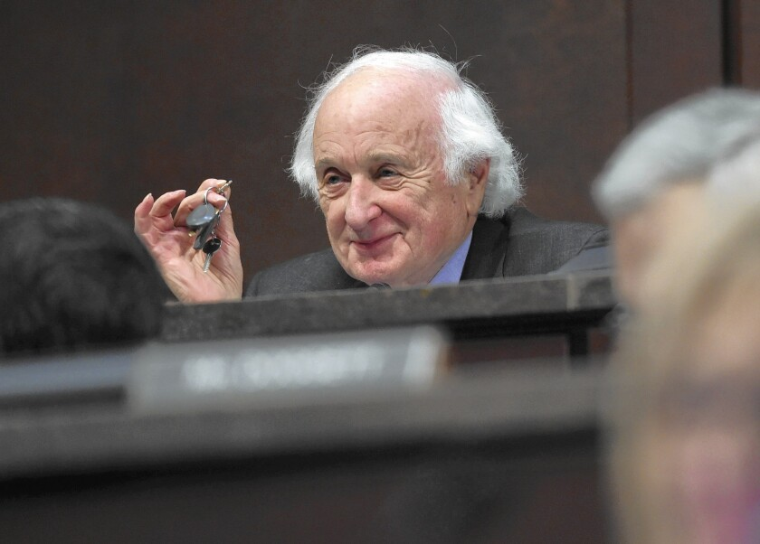 Rep. Sander M. Levin of Michigan, pictured in January, has become one of the Democratic Party's leading architects of a trade policy that embraces globalization but also strives to protect U.S. jobs.