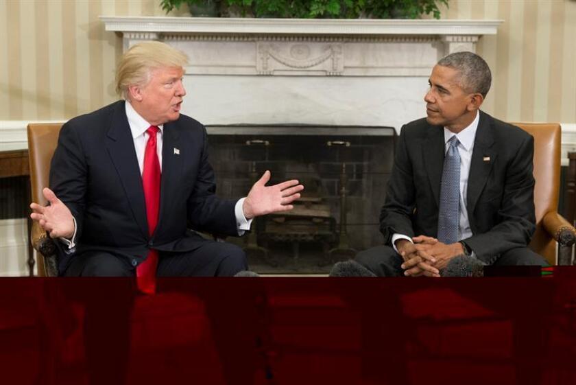 Las sanciones a Rusia por sus supuestas interferencias en las elecciones de noviembre han vuelto a poner en evidencia la profunda división entre la actual Administración de Barack Obama y la entrante, a partir del 20 de enero, de Donald Trump. EFE/ARCHIVO