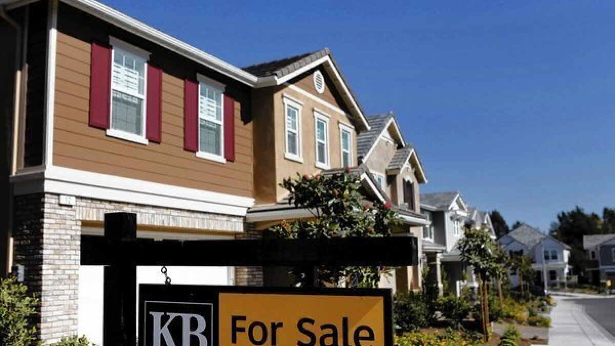 Southern California home prices stay flat in November