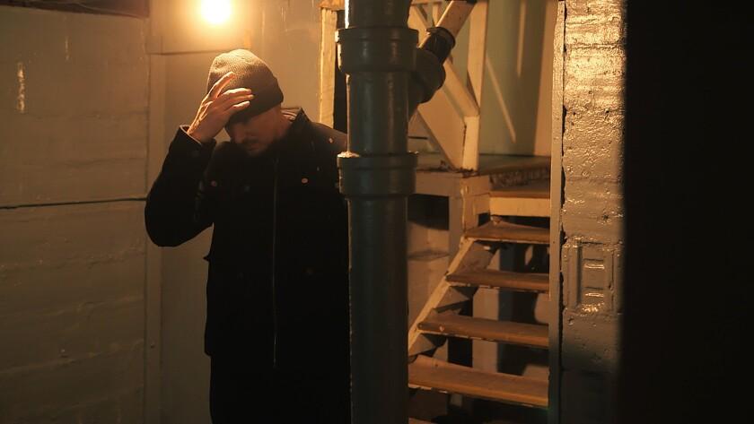 "Zak Bagans in the documentary ""Demon House."""