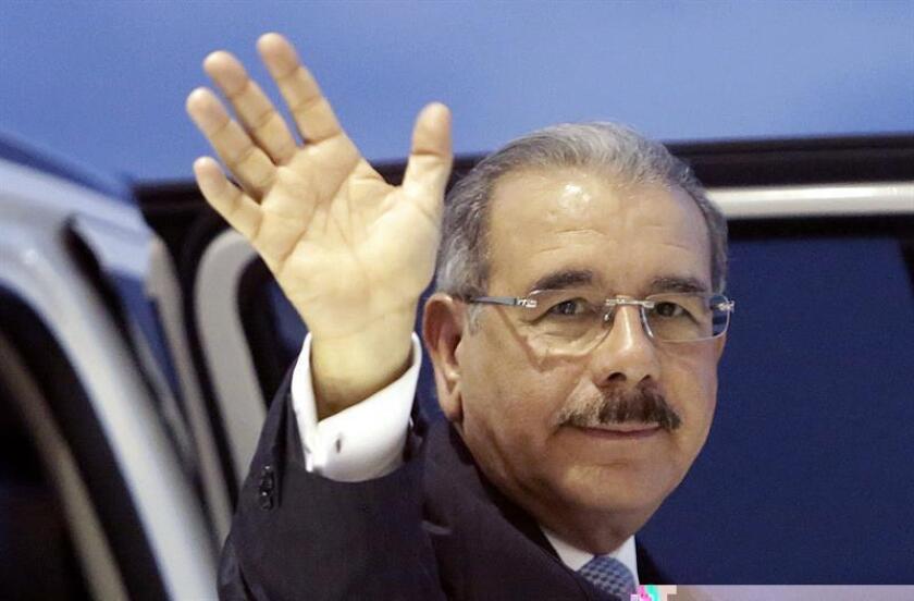 El presidente de la República Dominicana, Danilo Medina, asistirá el próximo día 2 de enero a la toma de posesión de Ricardo Rosselló Nevares como nuevo gobernador del Estado Libre Asociado de Puerto Rico. EFE/ARCHIVO