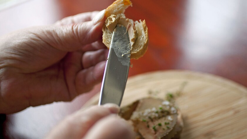 California chefs rejoiced upon hearing that foie gras, banned for sale in the state since 2012, could once again be legally sold in restaurants and markets.