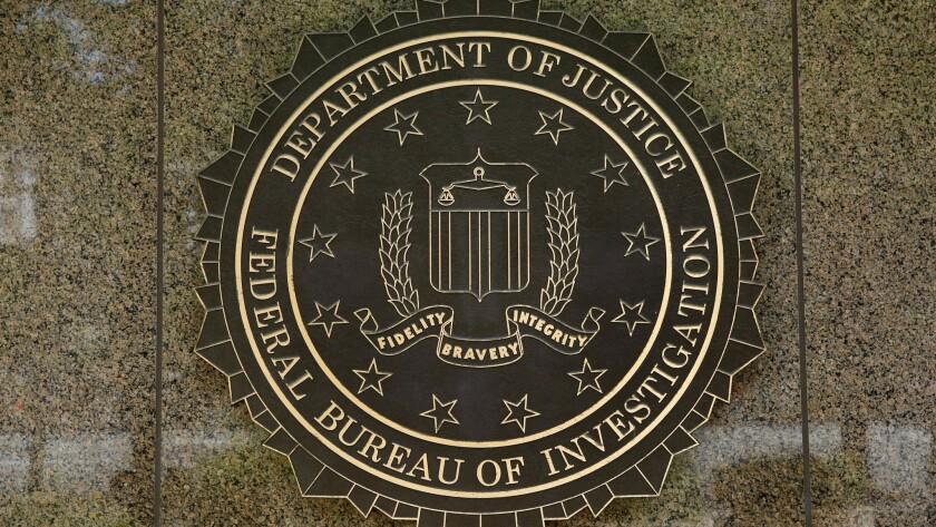 The FBI logo