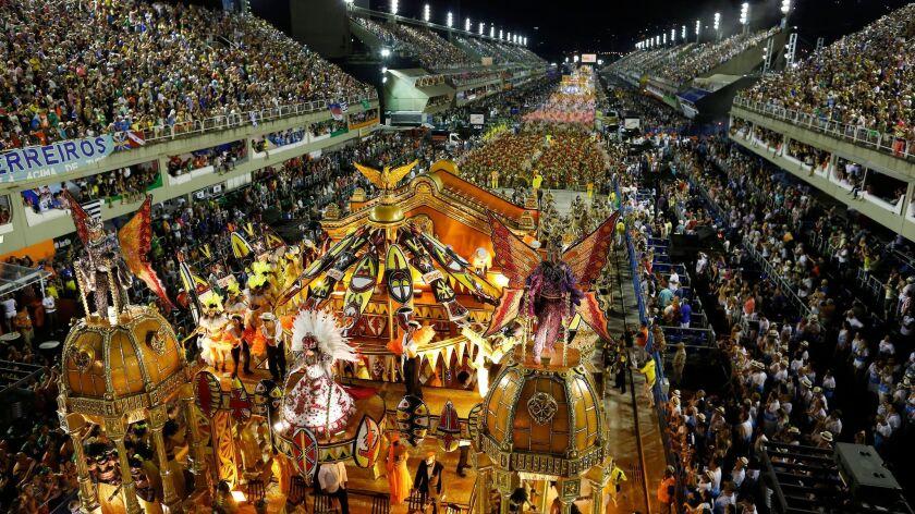Brazil Carnival 2017: Videos And Photos From Rio De