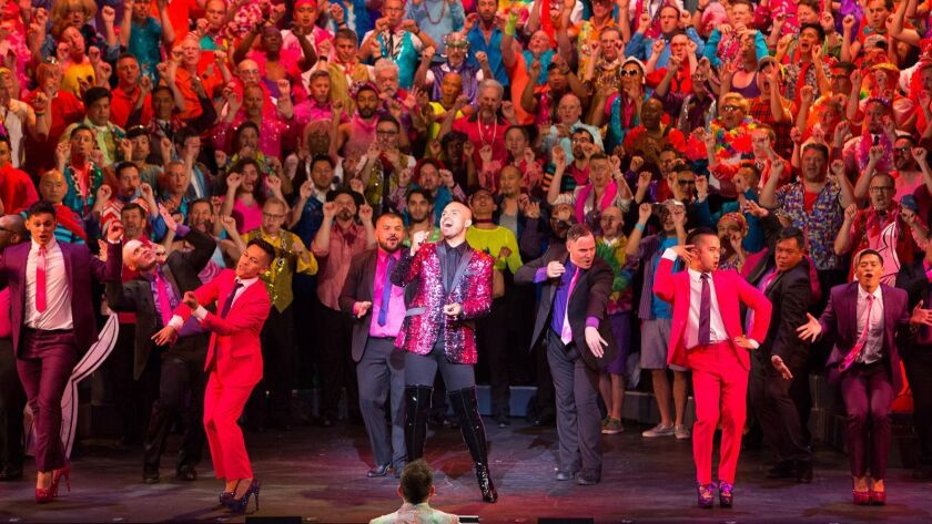 The Gay Men's Chorus of Los Angeles returns to the Alex Theatre in Glendale for its annual summer concert.