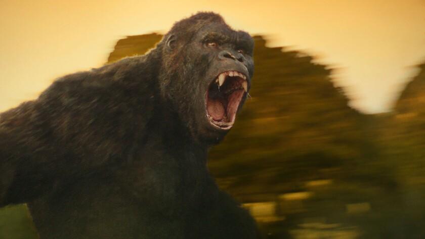 "Kong in ""Kong: Skull Island."" Credit: Warner Bros."