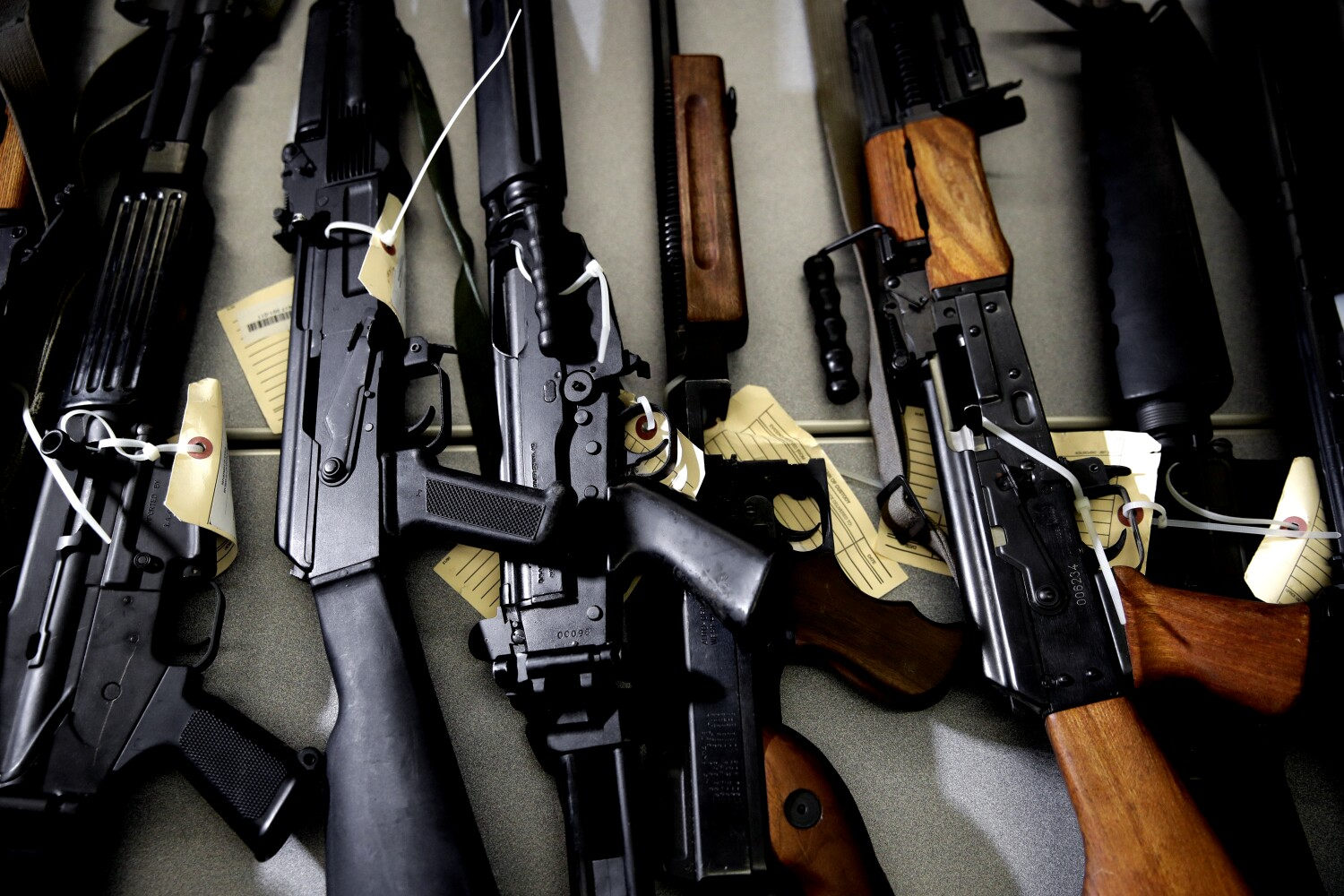 Column: California is sitting on a massive surplus. It's time for Newsom to spend on gun control