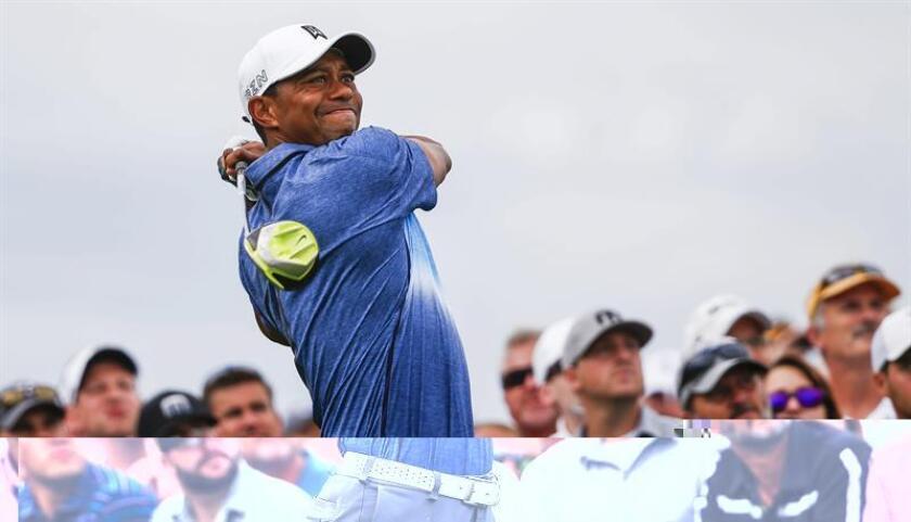 En la imagen, el golfista estadounidense Tiger Woods. EFE/Archivo