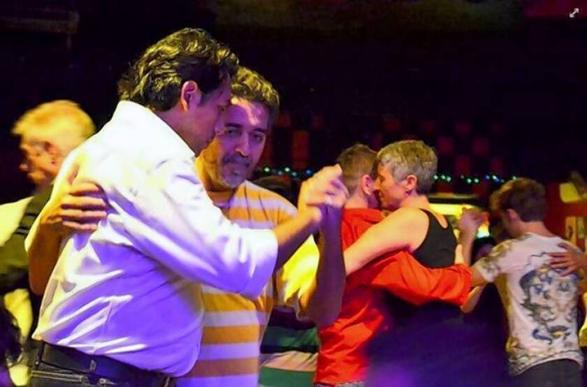 Dancers at Tango Queer in Buenos Aires can learn both roles in the dance: driver and drivee.