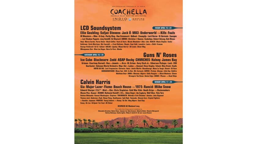 Coachella 2016 lineup