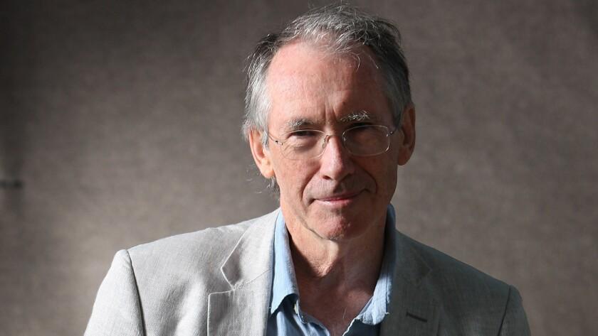 Author Ian McEwan.