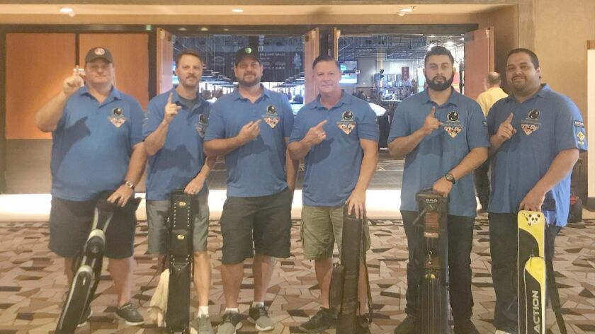 Ramona pool team claims prize in world competition - Ramona