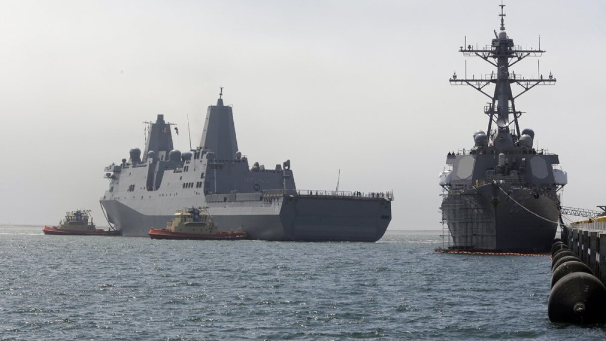 San Diego-based Navy ship orders crew confined on board amid soaring COVID-19 case numbers