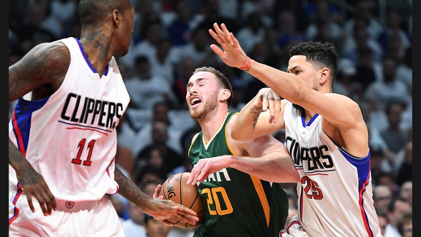 Gordon Hayward, Jamal Crawford, Austin Rivers