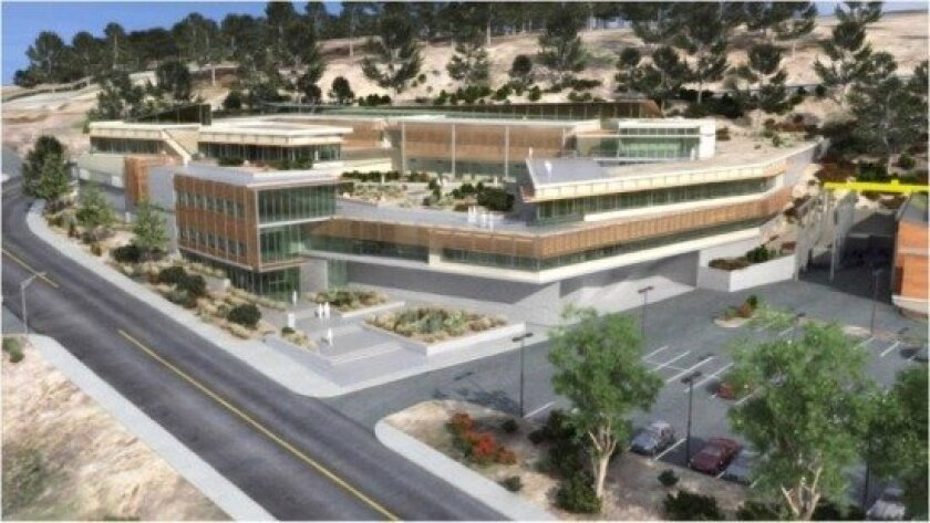 Artist's rendering of the Southwest Fisheries Science Center.