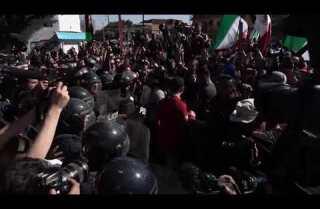 Tijuana protest