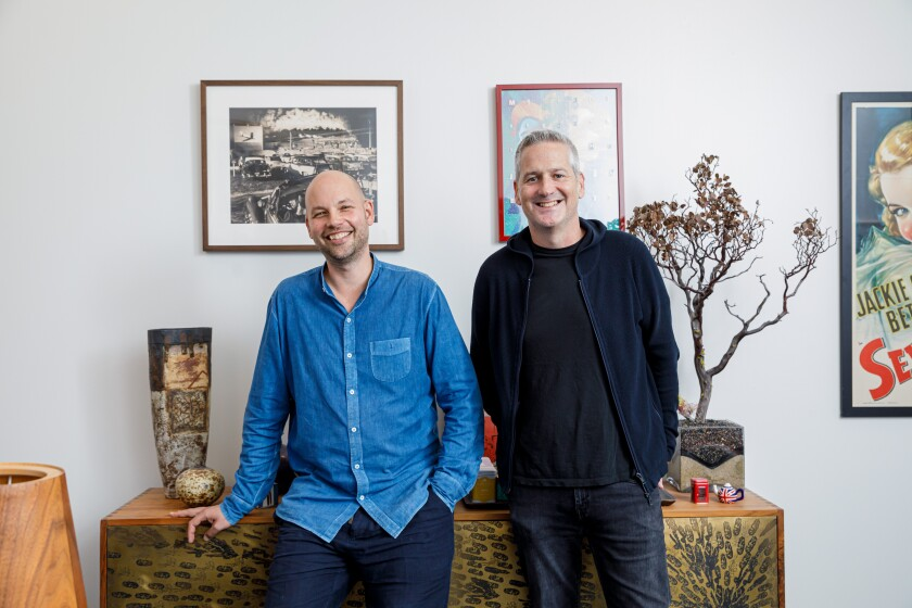 Endeavor Content co-presidents Chris Rice and Graham Taylor are leading their company's aggressive and controversial push into financing and owning shows and movies.