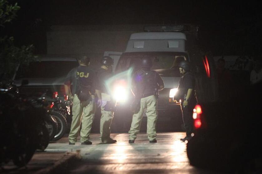 Dos muertos y un herido de gravedad dejó un ataque armado registrado la noche del domingo en la zona de discotecas del balneario de Cancún, en el Caribe mexicano, informaron hoy fuentes oficiales. EFE/ARCHIVO