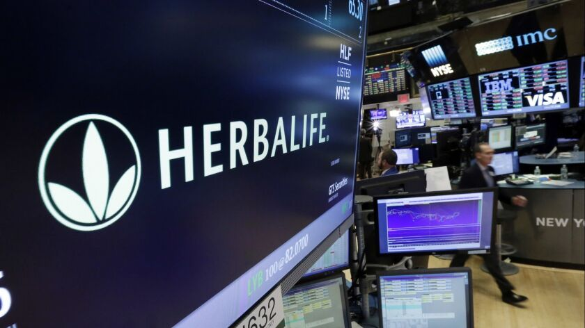 why did herbalife ceo step down