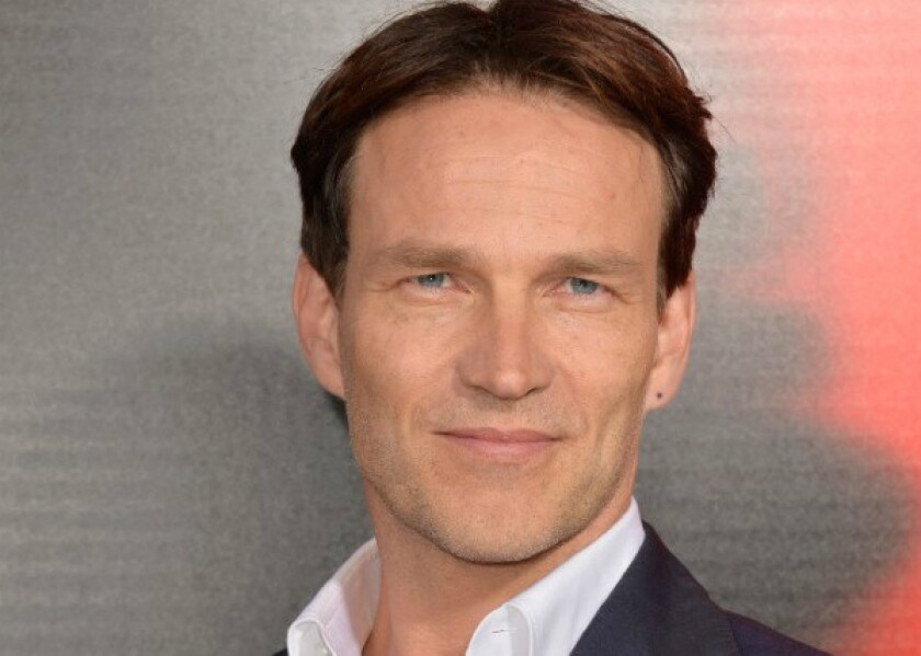 "Stephen Moyer at the premiere of Season 6 of HBO's ""True Blood,"" at the ArcLight Cinemas Cinerama Dome in Hollywood on June 11."