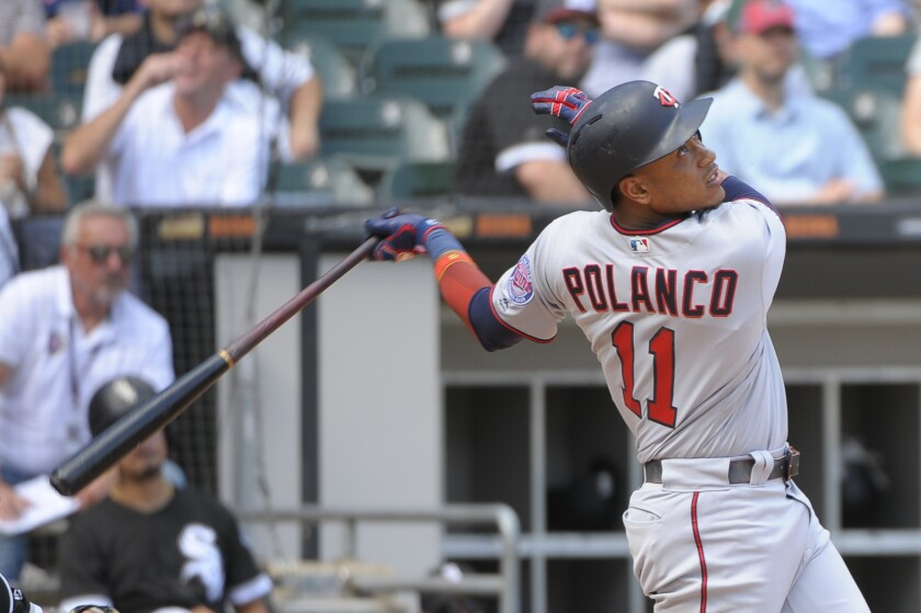Jorge Polanco needs one more home run to become the eighth Twins player with at least 20 this season.
