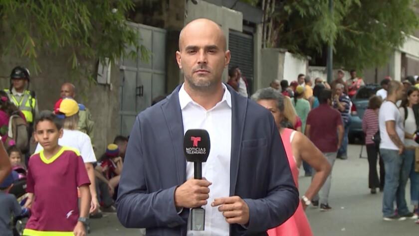 Durante seis horas fue secuestrado e interrogado el corresponsal de Noticias Telemundo en Caracas, Daniel Garrido.
