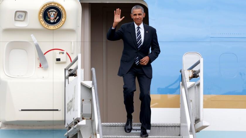 Obama visits