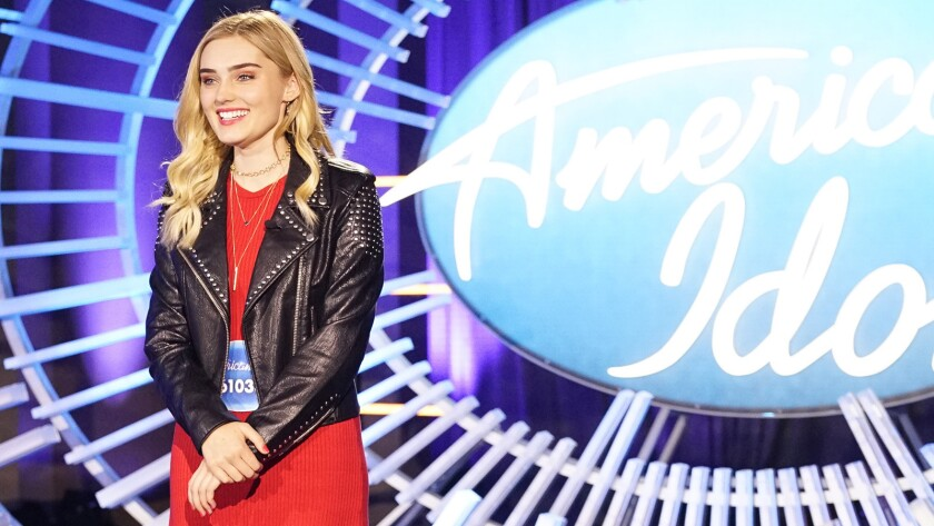 """Meg Donnelly in """"American Housewife"""" on ABC."""