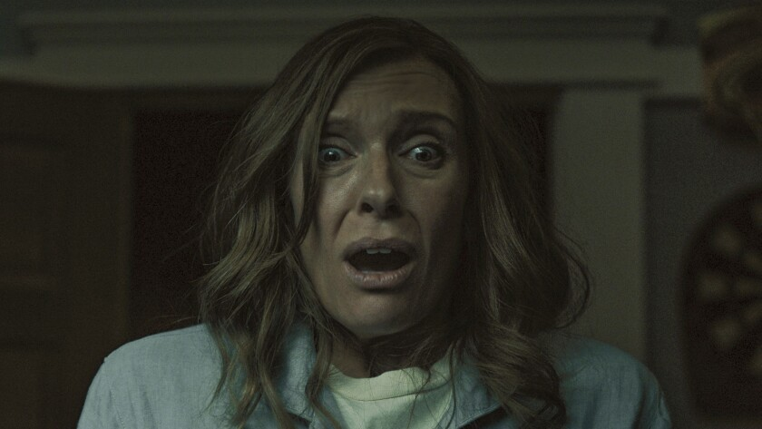 """Toni Collette in a scene from """"Hereditary."""" Credit: A24"""