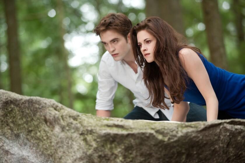 """""""Twilight Saga"""" stars Robert Pattinson and Kristen Stewart"""