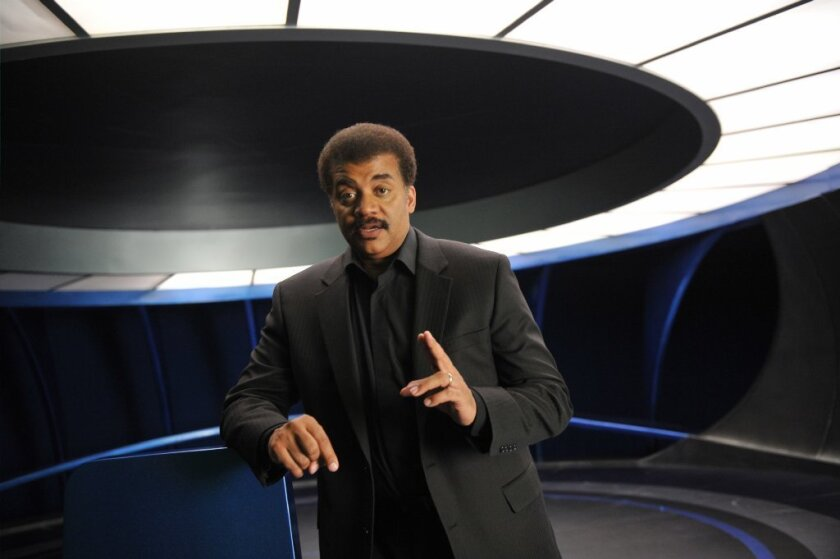 """Neil deGrasse Tyson guides viewers through """"Cosmos: A Spacetime Odyssey"""" on Fox and other networks."""