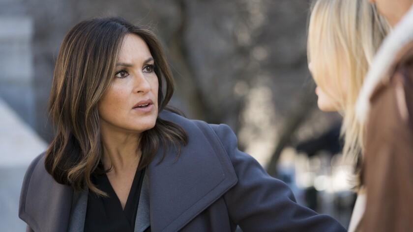 "Mariska Hargitay in ""Law & Order: Special Victims Unit"" on NBC."