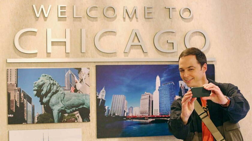"""Jim Parsons in """"The Big Bang Theory"""" on CBS."""