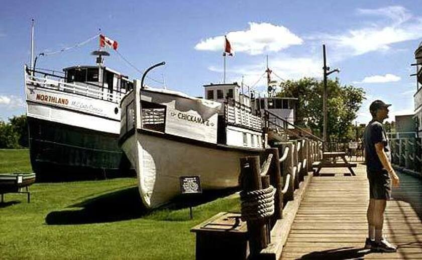 Visitors can climb aboard the ferries and tugboats at the Marine Museum of Manitoba in Selkirk. The boats once plied local rivers and lakes.