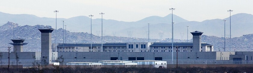 The federal correctional complex in Victorville.
