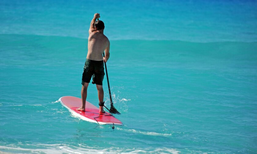 A stand-up paddle board race is among the competitions planned for Camp Pendleton's first Wai Kekoa - Water Warrior Beach Festival