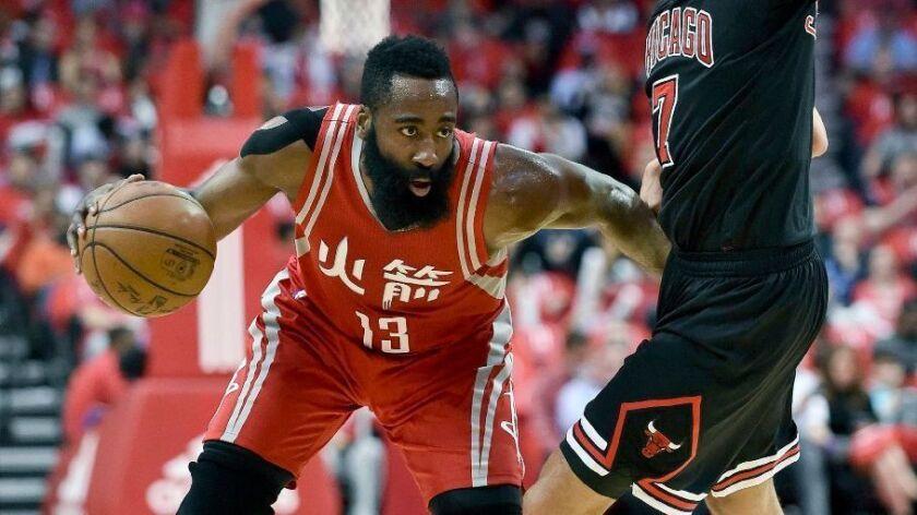 NBA: James Harden lifts Rockets past Bulls, 121-117, in OT