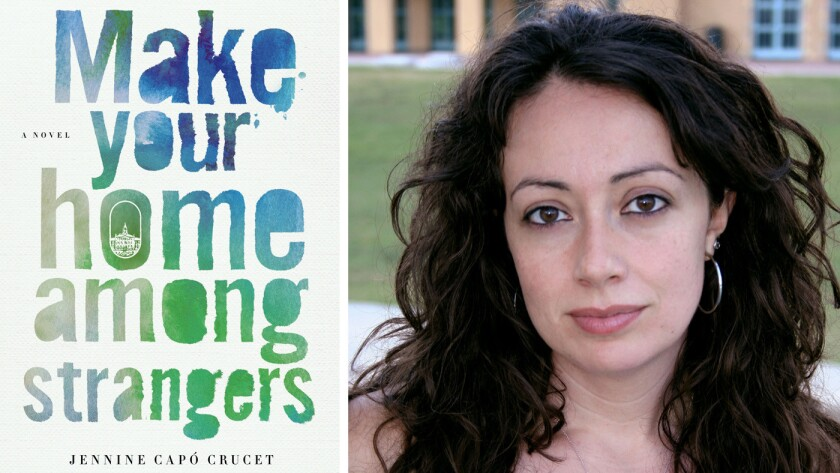 """""""Make Your Home Among Strangers"""" and author Jennine Capó Crucet."""