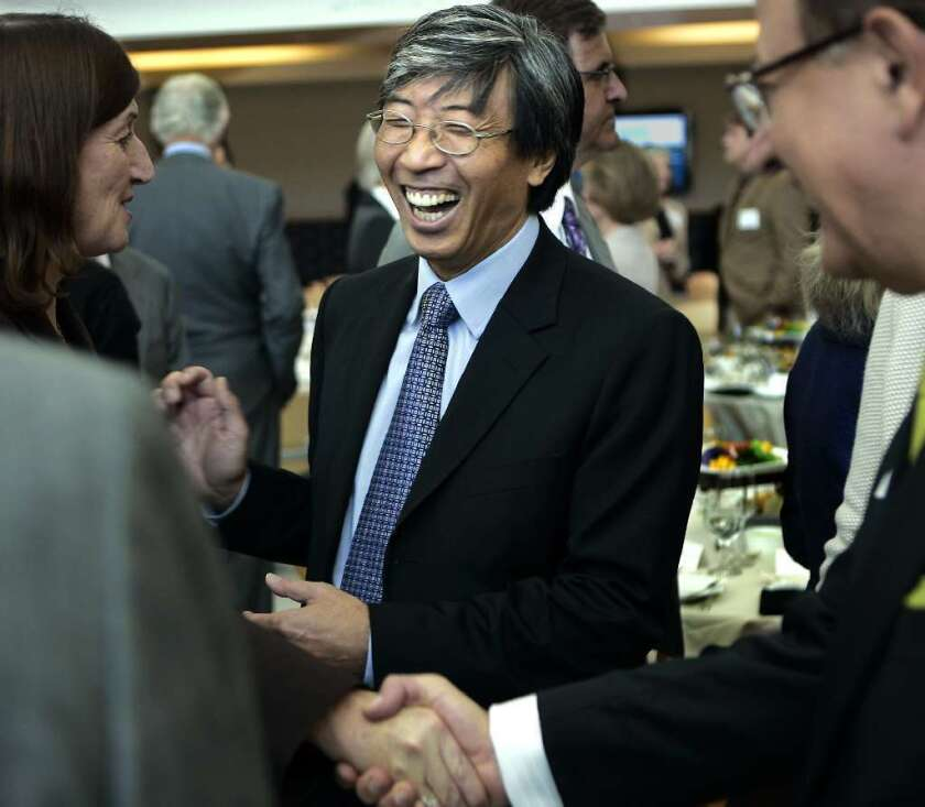 Patrick Soon-Shiong is a doctor and entrepreneur whose start-up company, NantHealth, seeks to use medical data and genetic information to find personalized cancer treatments.