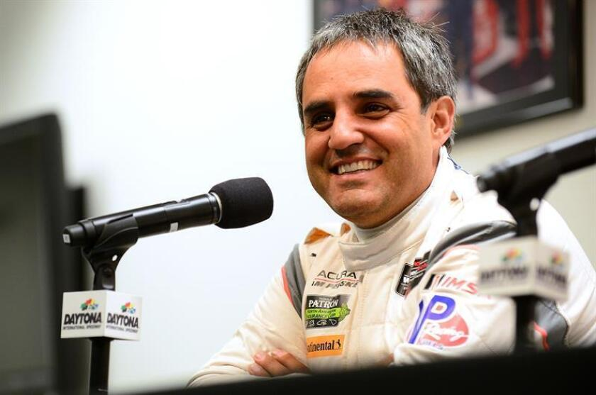 Juan Pablo Montoya, piloto colombiano. EFE/Archivo