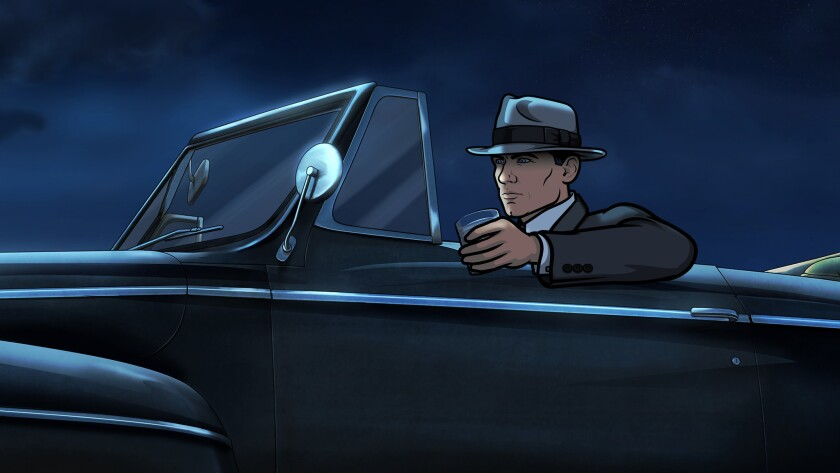 Sterling Archer on FXX is voiced by H. Jon Benjamin.