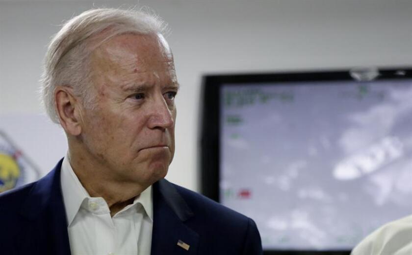Fotografía de archivo del exvicepresidente de los Estados Unidos, Joe Biden. EFE/Archivo