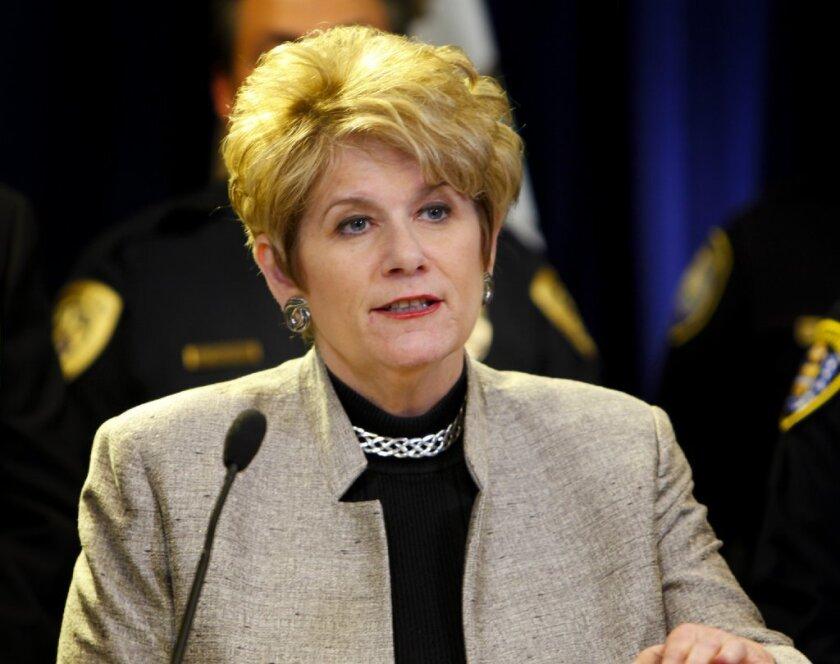 District Attorney Bonnie Dumanis