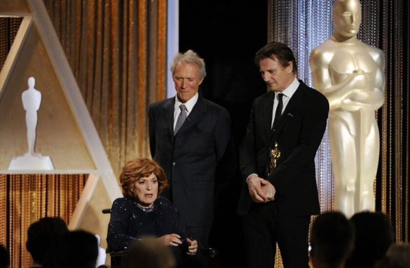 Maureen O'Hara's Governors Awards farewell