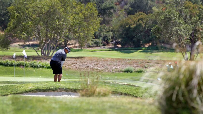 Only two San Diego-area casinos can offer guests the luxury amenity of their own golf course on the resort property: Barona, in Lakeside, and Pechanga, in Temecula (shown here). Both regularly make the top-20 lists of Indian casino courses in the U.S.