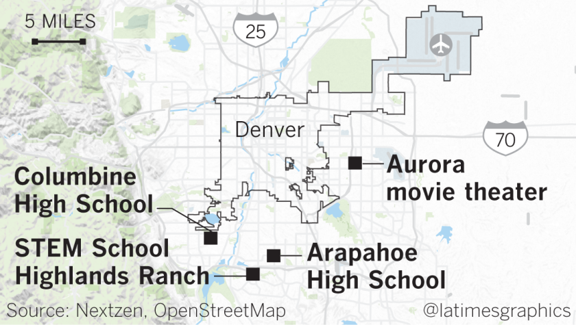 From Columbine To Aurora The Denver Area Is Often Plagued By Gun