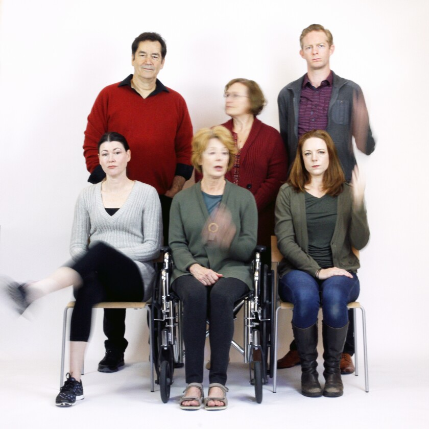 """The cast of San Diego Rep's """"The Humans."""""""