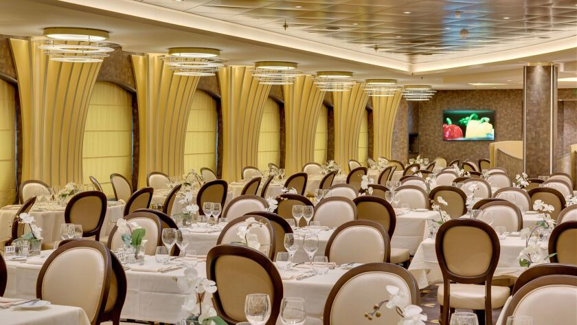 L'Olive Doree is one of the dining options on MSC's Meraviglia.