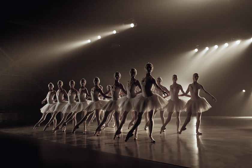 A photo of Russian Ballet Theatre's 'Swan Lake'